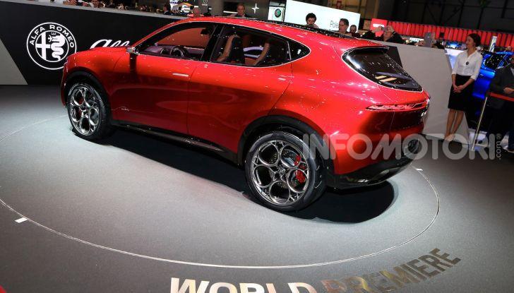 Alfa Romeo Tonale 2019: Il SUV Compatto su base Renegade - Foto 10 di 40