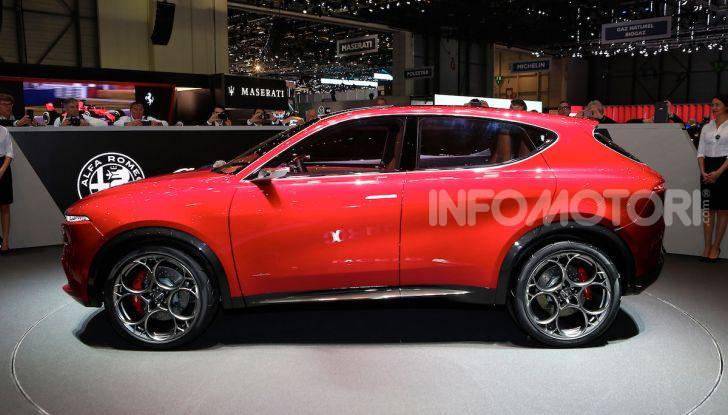 Alfa Romeo Tonale eletta migliore Concept car al Car Design Award 2019 - Foto 11 di 40
