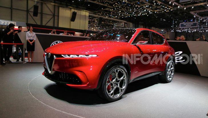 Alfa Romeo Tonale 2019: Il SUV Compatto su base Renegade - Foto 11 di 37