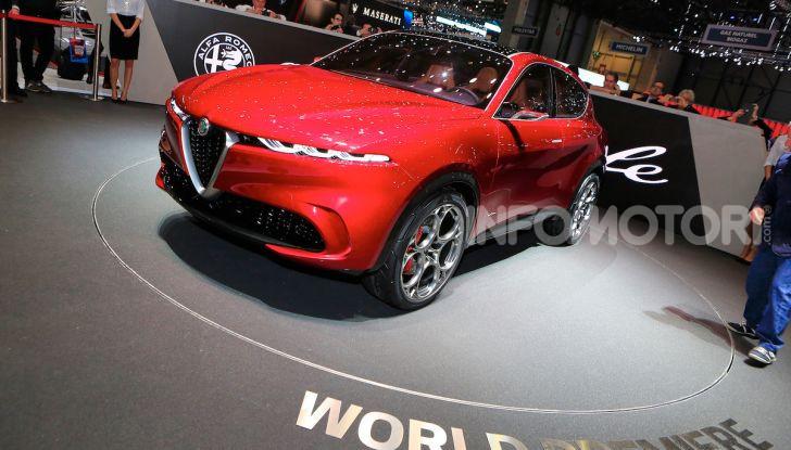 Alfa Romeo Tonale 2019: Il SUV Compatto su base Renegade - Foto 15 di 40