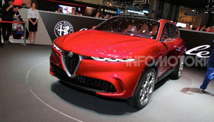 Alfa Romeo Tonale eletta migliore Concept car al Car Design Award 2019 - Foto 5 di 40