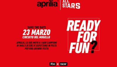 Aprilia All Stars: al Mugello la grande festa della casa di Noale