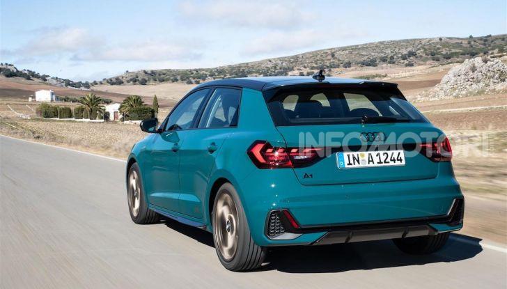 Audi A1 Sportback 2019: prezzi, consumi, prestazioni - Foto 1 di 8