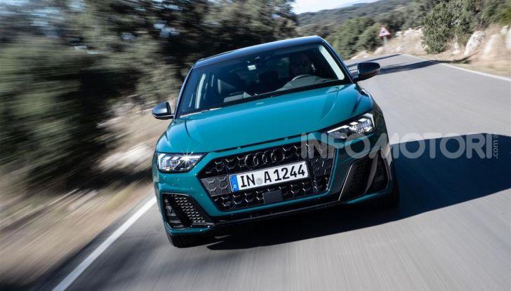 Audi A1 Sportback 2019: prezzi, consumi, prestazioni - Foto 3 di 8