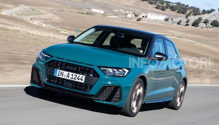 Audi A1 Sportback 2019: prezzi, consumi, prestazioni - Foto 6 di 8
