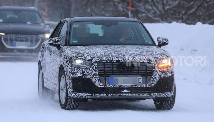 Audi Q2 e-tron 2020: il Crossover elettrico dei Quattro Anelli - Foto 2 di 9