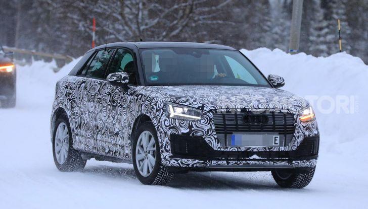 Audi Q2 e-tron 2020: il Crossover elettrico dei Quattro Anelli - Foto 1 di 9