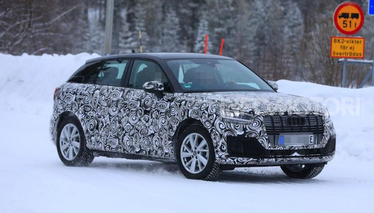 Audi Q2 e-tron 2020: il Crossover elettrico dei Quattro Anelli - Foto 3 di 9