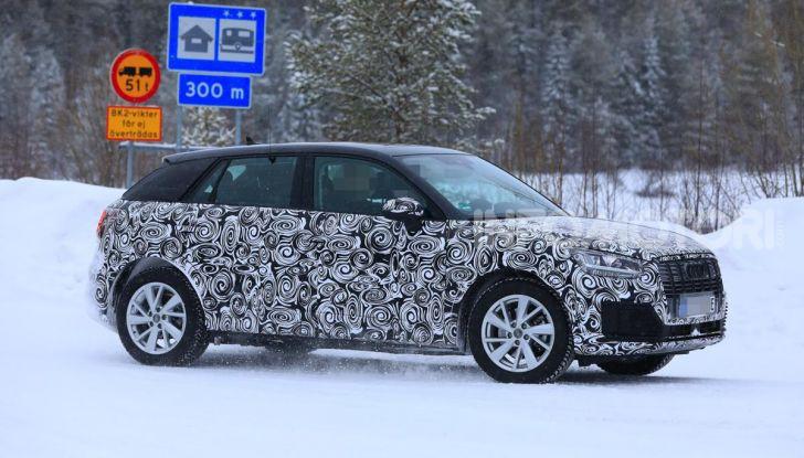 Audi Q2 e-tron 2020: il Crossover elettrico dei Quattro Anelli - Foto 4 di 9
