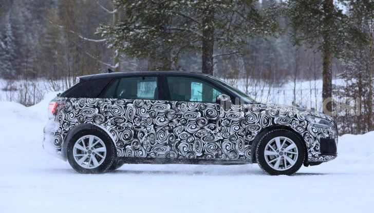 Audi Q2 e-tron 2020: il Crossover elettrico dei Quattro Anelli - Foto 9 di 9