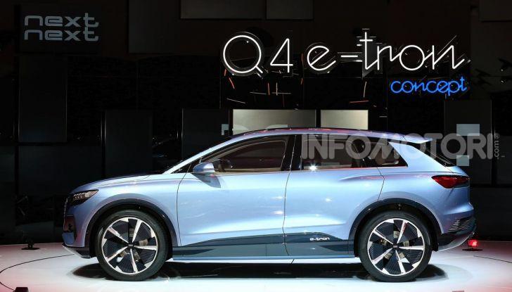 Audi Q4 e-tron Concept: il crossover elettrico per Ginevra 2019 - Foto 10 di 34