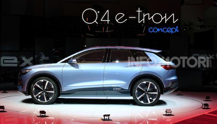 Audi Q4 e-tron Concept: il crossover elettrico per Ginevra 2019 - Foto 11 di 34