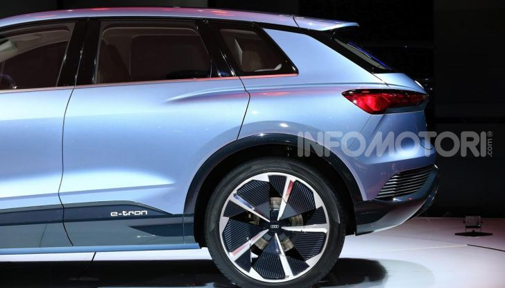 Audi Q4 e-tron Concept: il crossover elettrico per Ginevra 2019 - Foto 12 di 34