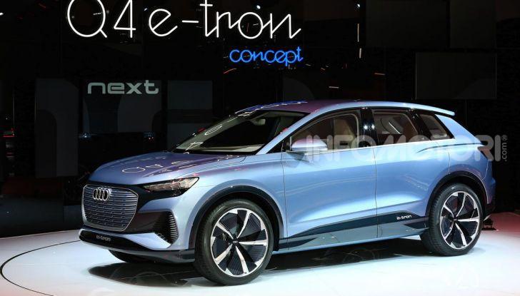 Audi Q4 e-tron Concept: il crossover elettrico per Ginevra 2019 - Foto 13 di 34