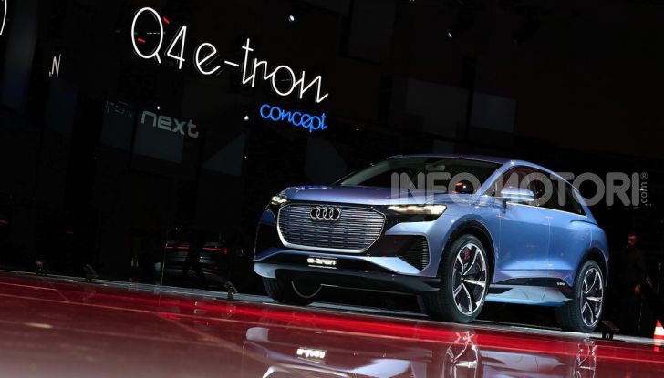 Audi Q4 e-tron Concept: il crossover elettrico per Ginevra 2019 - Foto 14 di 34