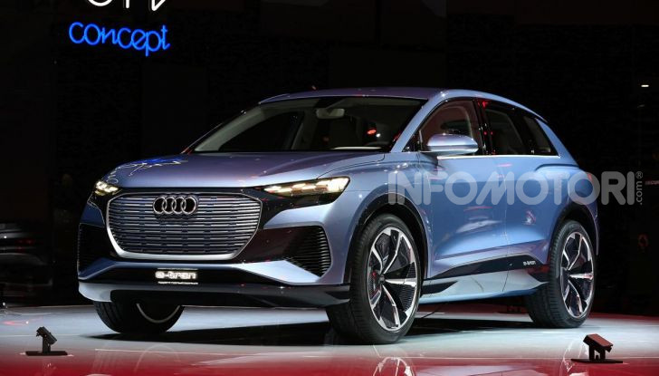 Audi Q4 e-tron Concept: il crossover elettrico per Ginevra 2019 - Foto 1 di 34