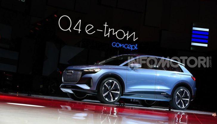 Audi Q4 e-tron Concept: il crossover elettrico per Ginevra 2019 - Foto 15 di 34
