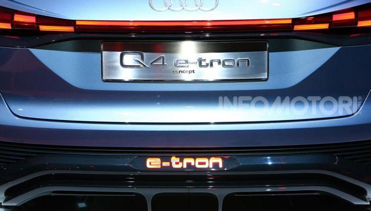 Audi Q4 e-tron Concept: il crossover elettrico per Ginevra 2019 - Foto 16 di 34
