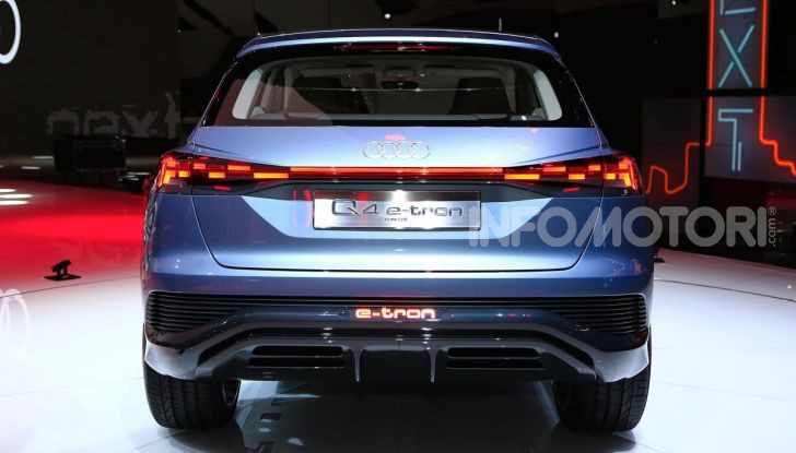 Audi Q4 e-tron Concept: il crossover elettrico per Ginevra 2019 - Foto 17 di 34
