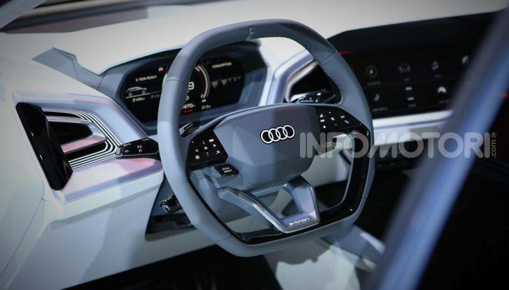 Audi Q4 e-tron Concept: il crossover elettrico per Ginevra 2019 - Foto 4 di 34