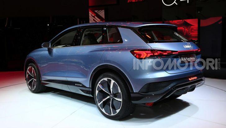 Audi Q4 e-tron Concept: il crossover elettrico per Ginevra 2019 - Foto 19 di 34