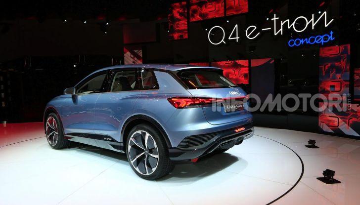 Audi Q4 e-tron Concept: il crossover elettrico per Ginevra 2019 - Foto 20 di 34
