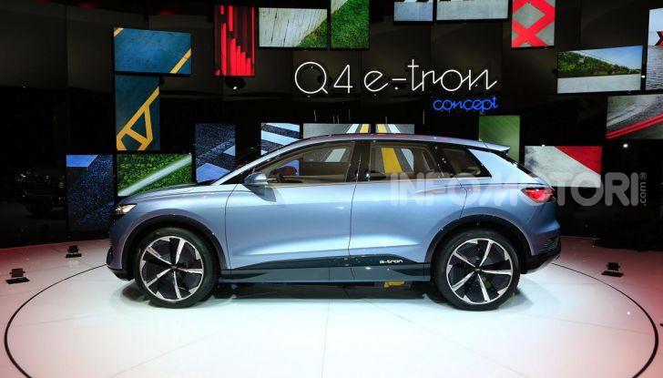 Audi Q4 e-tron Concept: il crossover elettrico per Ginevra 2019 - Foto 21 di 34
