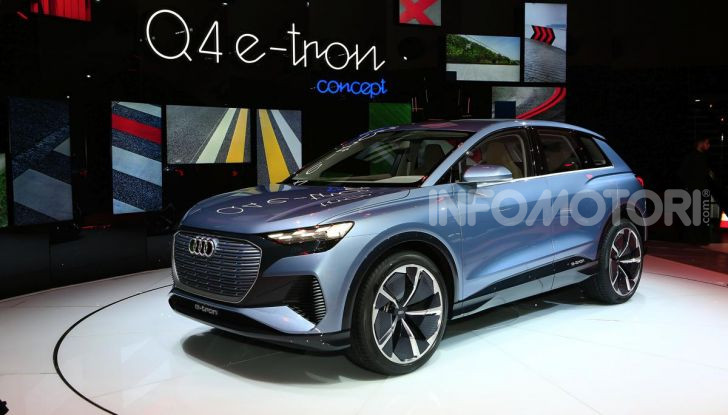 Audi Q4 e-tron Concept: il crossover elettrico per Ginevra 2019 - Foto 22 di 34