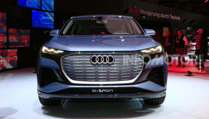 Audi Q4 e-tron Concept: il crossover elettrico per Ginevra 2019 - Foto 23 di 34