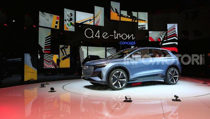 Audi Q4 e-tron Concept: il crossover elettrico per Ginevra 2019 - Foto 24 di 34