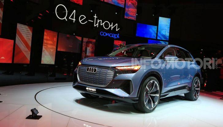 Audi Q4 e-tron Concept: il crossover elettrico per Ginevra 2019 - Foto 25 di 34