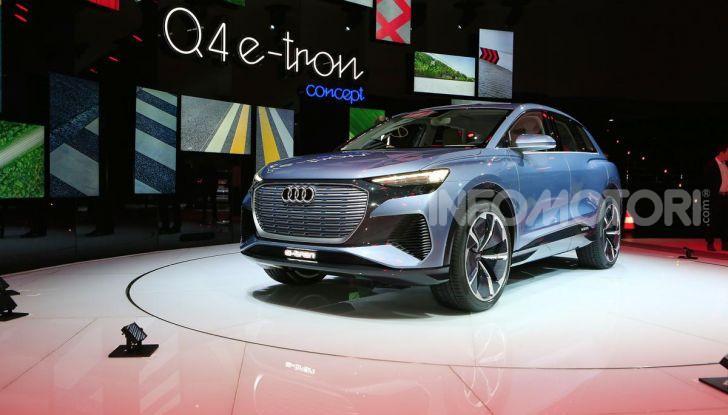 Audi Q4 e-tron Concept: il crossover elettrico per Ginevra 2019 - Foto 26 di 34