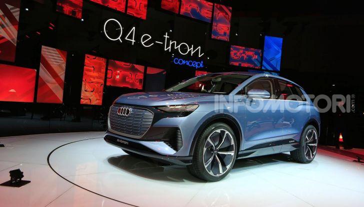Audi Q4 e-tron Concept: il crossover elettrico per Ginevra 2019 - Foto 27 di 34