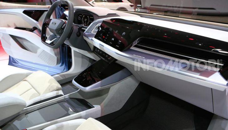 Audi Q4 e-tron Concept: il crossover elettrico per Ginevra 2019 - Foto 28 di 34