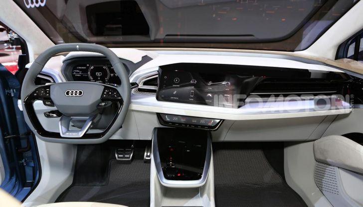 Audi Q4 e-tron Concept: il crossover elettrico per Ginevra 2019 - Foto 30 di 34