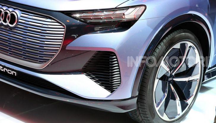 Audi Q4 e-tron Concept: il crossover elettrico per Ginevra 2019 - Foto 34 di 34