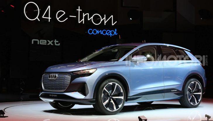 Audi Q4 e-tron Concept: il crossover elettrico per Ginevra 2019 - Foto 2 di 34