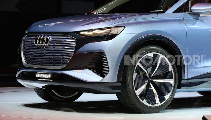 Audi Q4 e-tron Concept: il crossover elettrico per Ginevra 2019 - Foto 5 di 34