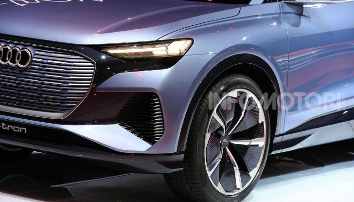 Audi Q4 e-tron Concept: il crossover elettrico per Ginevra 2019 - Foto 6 di 34