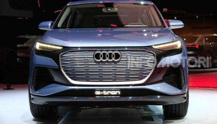 Audi Q4 e-tron Concept: il crossover elettrico per Ginevra 2019 - Foto 7 di 34
