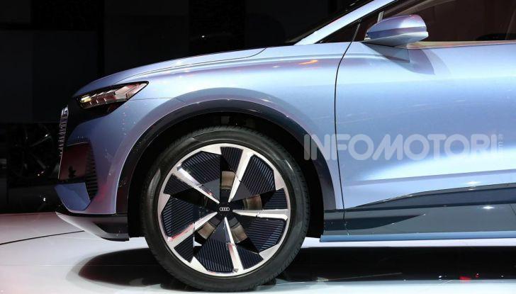 Audi Q4 e-tron Concept: il crossover elettrico per Ginevra 2019 - Foto 8 di 34