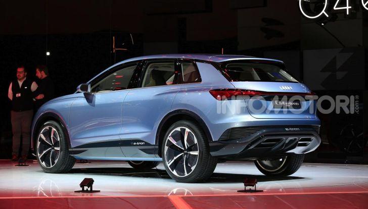 Audi Q4 e-tron Concept: il crossover elettrico per Ginevra 2019 - Foto 9 di 34