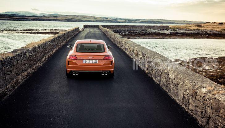 Nuova Audi TTS: ancora più sportiva - Foto 17 di 30