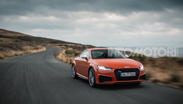 Nuova Audi TTS: ancora più sportiva - Foto 16 di 30