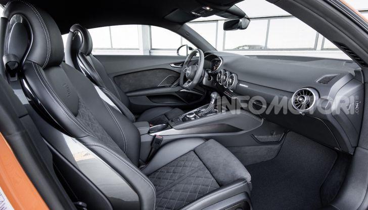 Nuova Audi TTS: ancora più sportiva - Foto 14 di 30