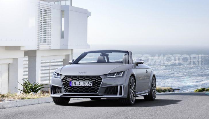 Nuova Audi TTS: ancora più sportiva - Foto 12 di 30