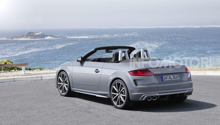 Nuova Audi TTS: ancora più sportiva - Foto 11 di 30