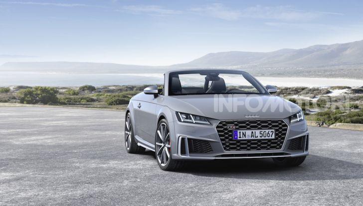 Nuova Audi TTS: ancora più sportiva - Foto 10 di 30