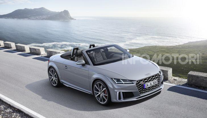 Nuova Audi TTS: ancora più sportiva - Foto 9 di 30