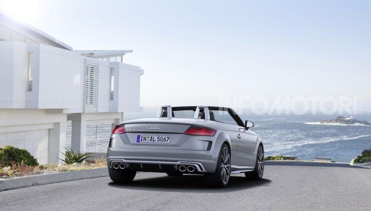 Nuova Audi TTS: ancora più sportiva - Foto 8 di 30